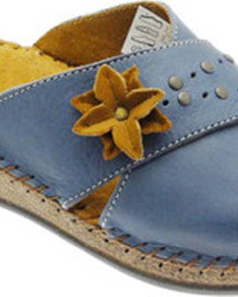Modré pantofle De Fonseca