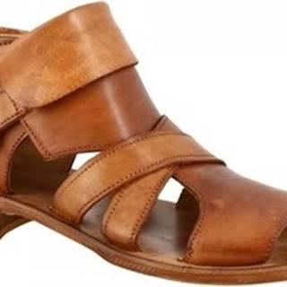 Sandály K110 WASH MARRONE Hnědá