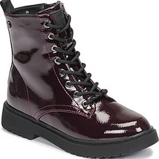 Kotníkové boty 72540 Červená