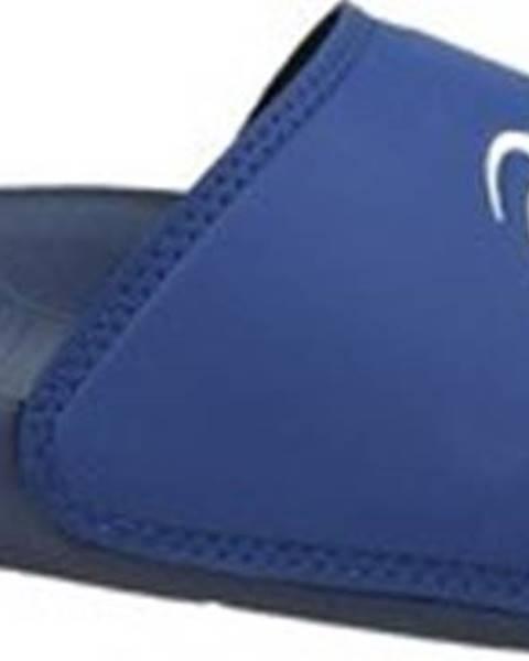 Modré pantofle Asics