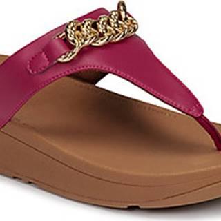 Sandály LOTTIE CHAIN TOE-THONGS Růžová