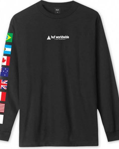 Černé tričko HUF