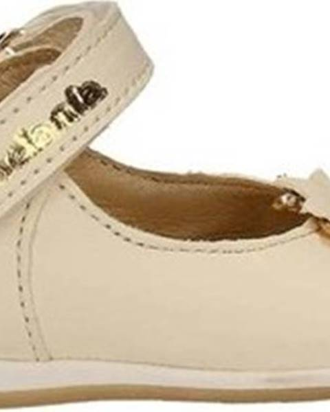 Béžové boty Melania