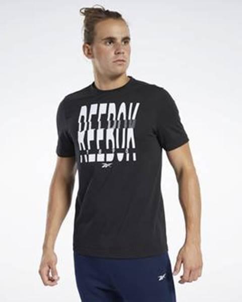 Černé tričko Reebok Sport