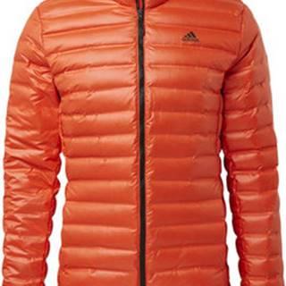 adidas Prošívané bundy Bunda Varilite Down Oranžová