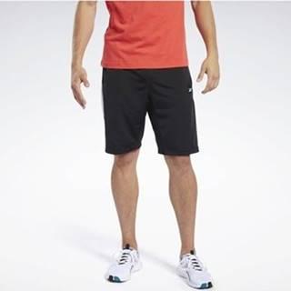 Kraťasy & Bermudy Training Essentials Linear Logo Shorts Černá