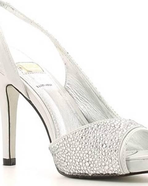 Stříbrné sandály Osey