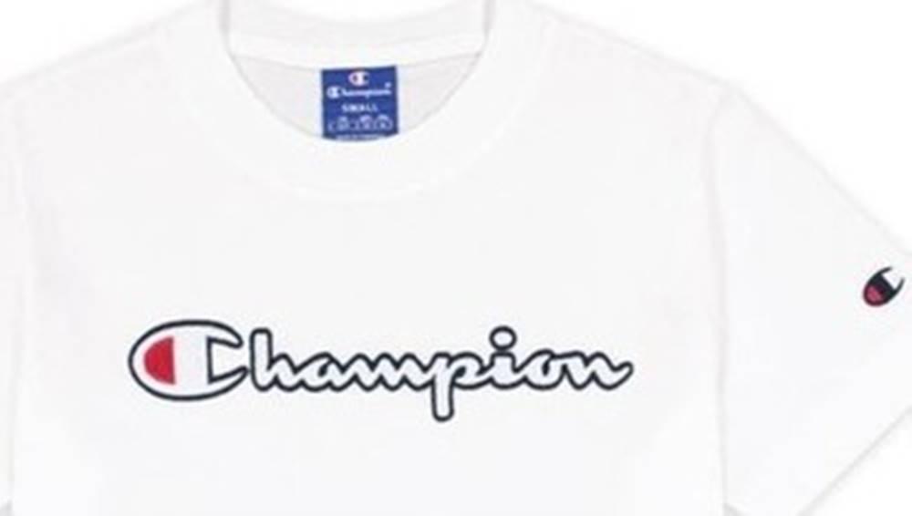 champion Trička s krátkým rukávem Crewneck Tshirt Bílá